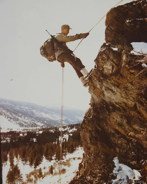 Training at Camp Hale, Colorado
