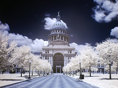 """Austin Texas - Capital Building <BR><BR>Want to buy a print of this image?  Click <a href=""""http://www.langfordphotography.com/For-Sale/Infrared/935257_hvPX2p"""">Here</a>!"""