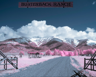 Busterback Ranch in Infrared