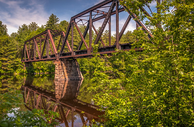 Railroad Bridge, Grindstone ME