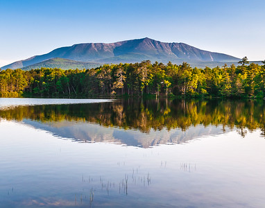 Mt Katahdin from Togue Pond