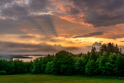 Sunset at Moosehead Lake