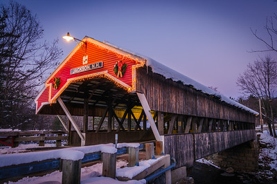 Covered Bridge at Jackson NH