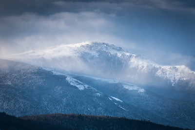 Storm Clouds Over Mt Washington