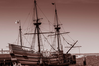 Mayflower 2 - Plymouth, MA - duotone