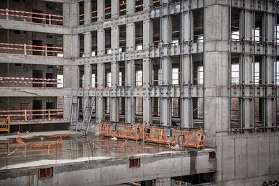 съемка для ВТБ-Арена, строительство на месте стадиона Динамо, Москва
