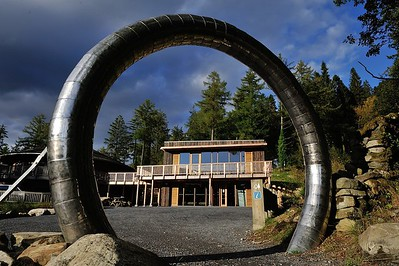Coed y Brenin Mountain bike visitor centre. Visit Wales