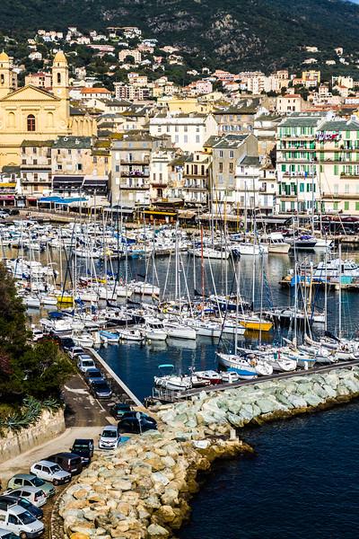 The Citadel of Bastia, Isle of Corsica, France