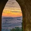 Hillsides of Volterra, Tuscany, Italy