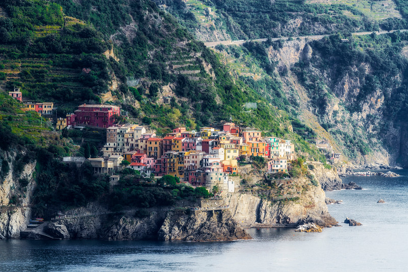 Jewel of the Cinque Terre ~ Manarola
