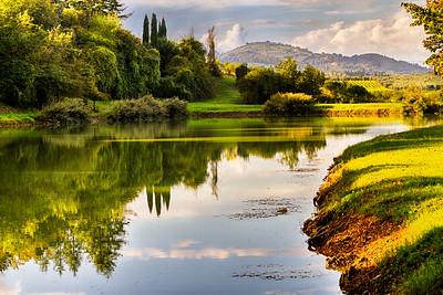The Lake ~ Villa Castelletti, Signa, Toscana, Italia