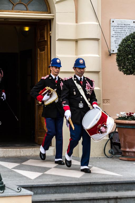 Monaco - Prince Albert's Changing of the Royal Guard