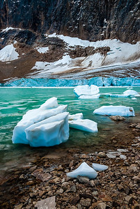 Edith Cavell Glacier #1