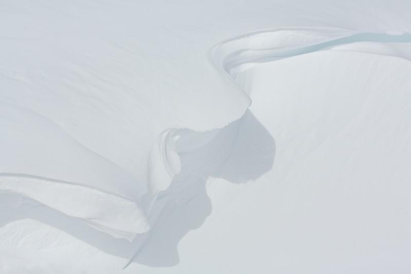 Delicate Snow Cornice