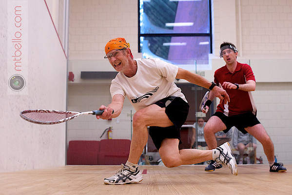 2011 Smith College United Way Squash Tournament: Moss Kahler and Michael T. Bello