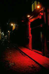 Alleyway in temple bar area, Dublin