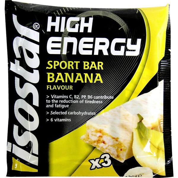 212799, Isostar High Energy Sport Bar Banana 40g