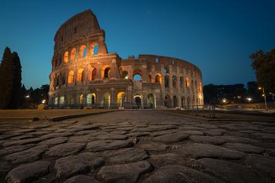 Colosseum Blue Hour