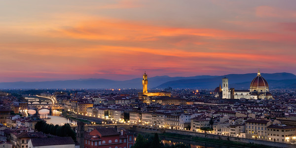 Overlooking Firenze