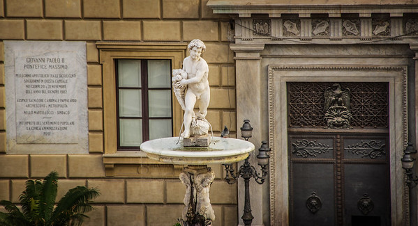 Palermo fountain