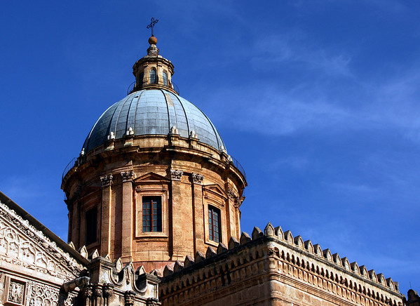 The Duomo of Palermo. It was a mosque before a cathedral.