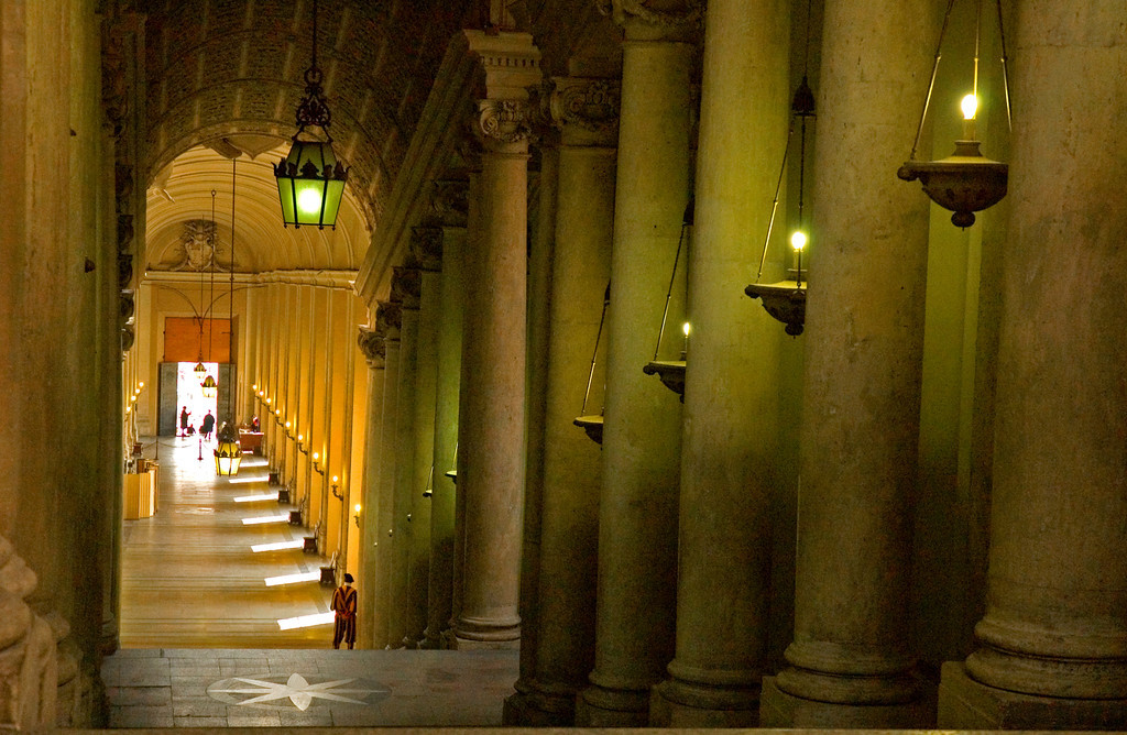 Passageway for the Pope