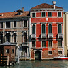 On the Grand Canal in Venice