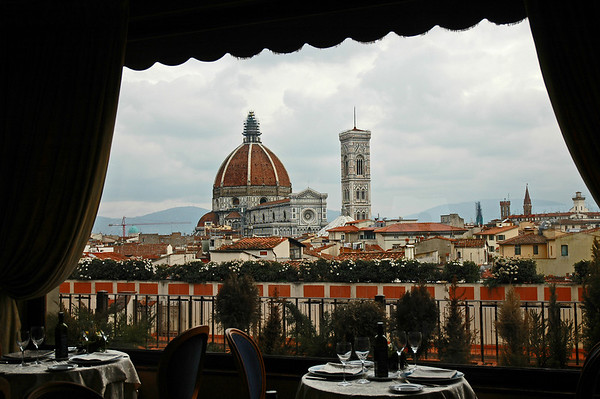 View from Baglioni Hotel, Florence