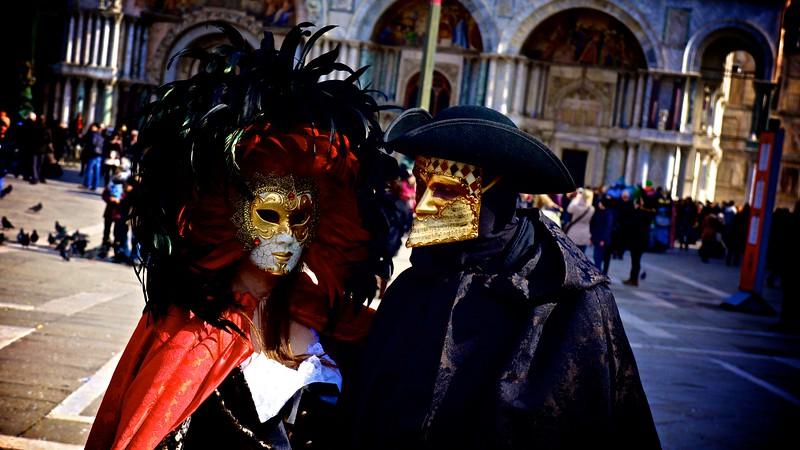 Carnevale Revelers