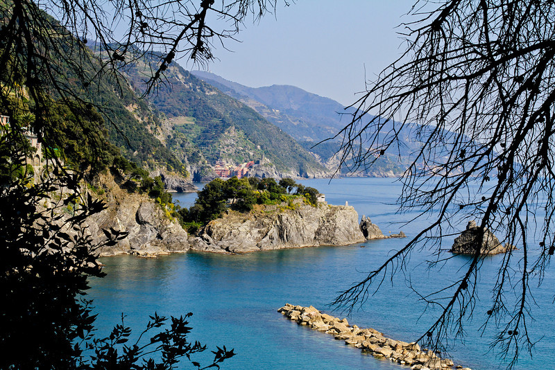 Harbour in Monterosso,Italy. Part of the Cinque terre -5 cities.