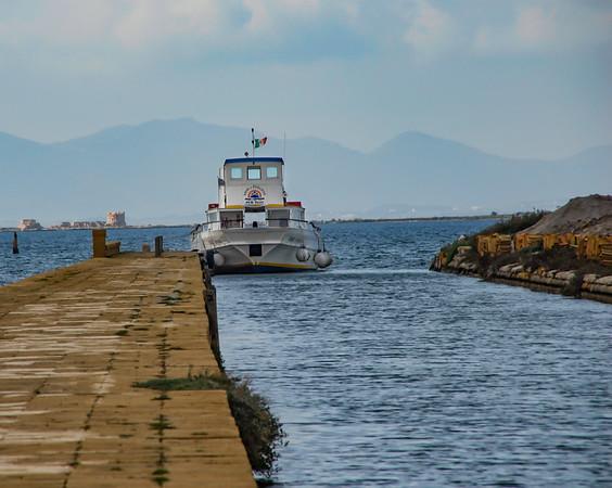 Marsala workboat