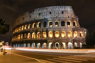Rome: Colosseum - Long Exposure