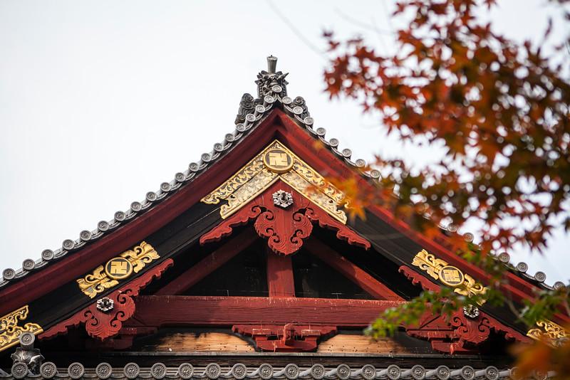 TOKYO. UENO PARK. KIYOMIZU KANNON TEMPLE.