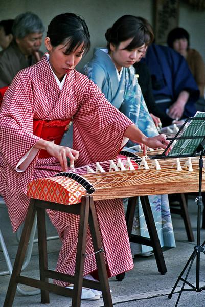 JAPANESE MUSICIANS. KAMARAKURA.