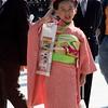 TOKYO. MEIJI SHRINE. JAPANESE GIRL IN KIMONO POSING. [2]
