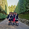JAPANESE GIRLS. KYOTO.