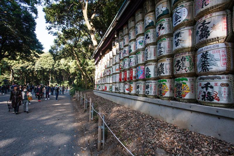 TOKYO. MEIJI SHRINE.