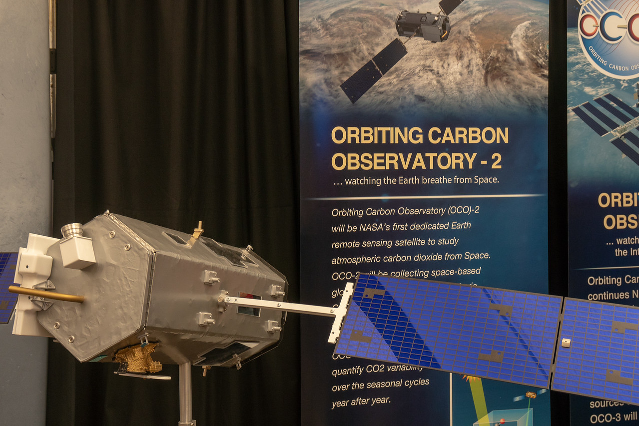 Model of Orbiting Carbon Observatory-2 Satellite