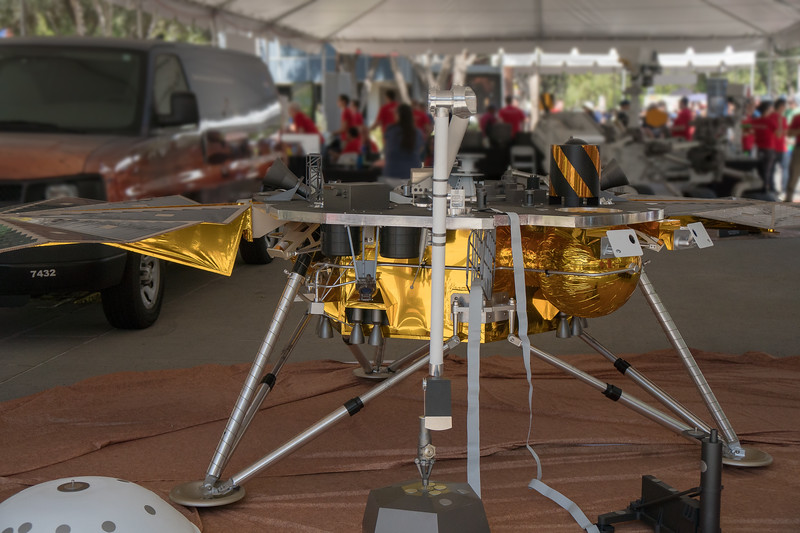 Mars Rover Insight designed to explore below the surface