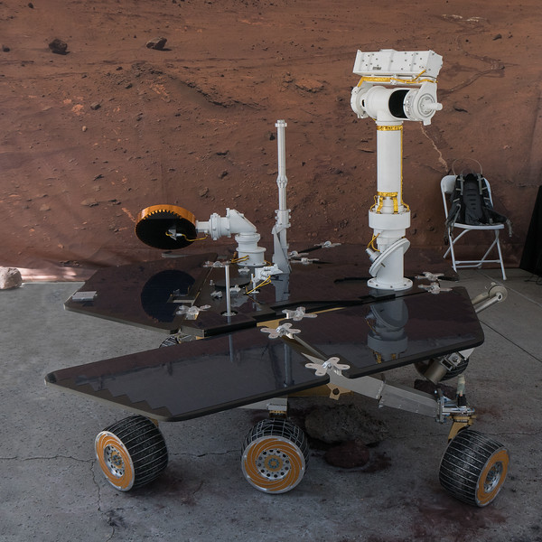 Opportunity Rover on display at JPL