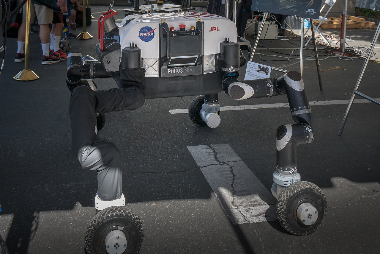 Robosimian at the JPL Open House
