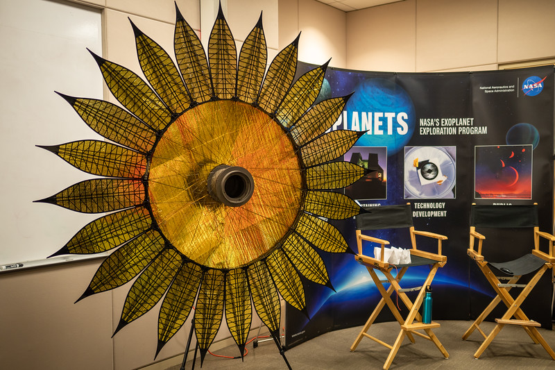 Flower-shaped starshade will help NASA find exoplanets