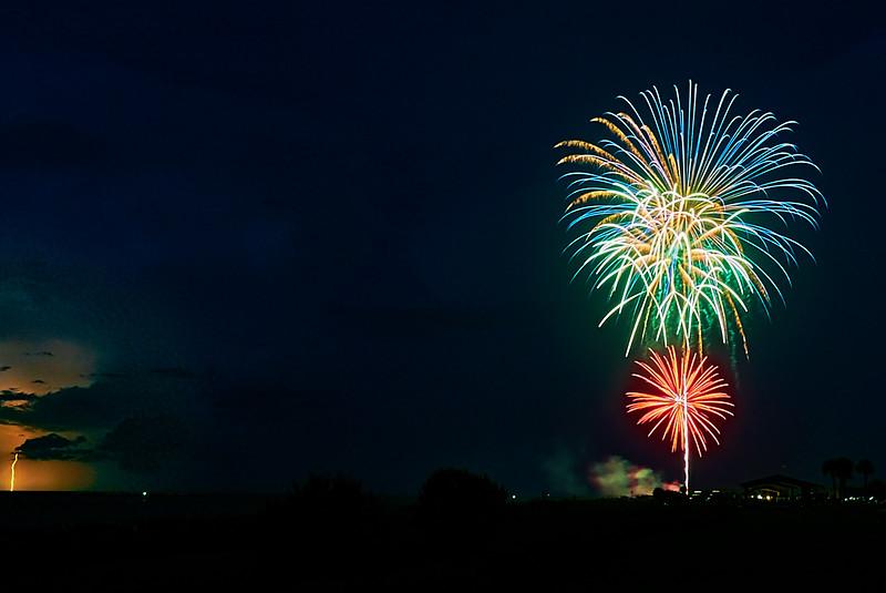 Fireworks and Lighting