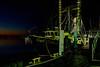 Mayport Florida Shrimp Boat at sunset.