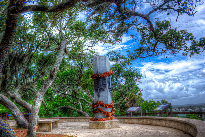 Ribault Monument my tone mapping
