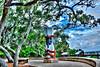Ribault Monument park tone mapped Photomatix