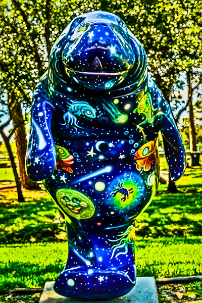 Celestial Moonatee with Bokeh Stars