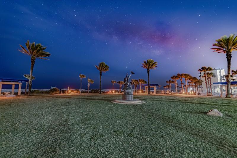 Milky Way over Oceanfront Park