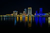 City of Jacksonville at Night