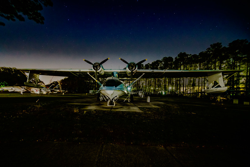 PBY-5A Catalina under the Stars